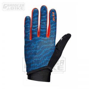guante northwave blaze 2 full azul naranja 01
