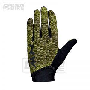 guante northwave mtb air 3 full amarillo fluor negro