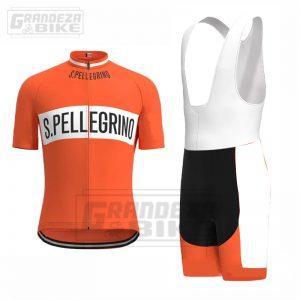 uniforme ciclismo naranja
