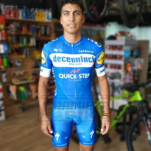 uniforme de ciclismo bicicleta quick step 01
