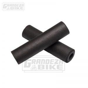 puño silicona bicicleta negro