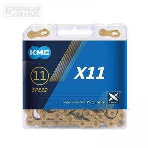 kmc-cadena-x11-dorado